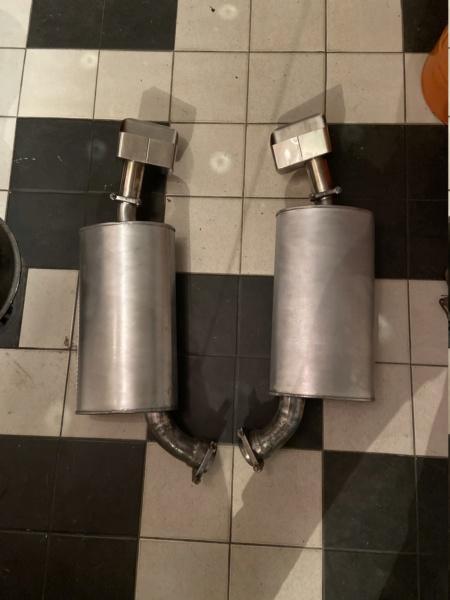 X-pipe inox pour C3 Big Block 454 de 70 Img_1710
