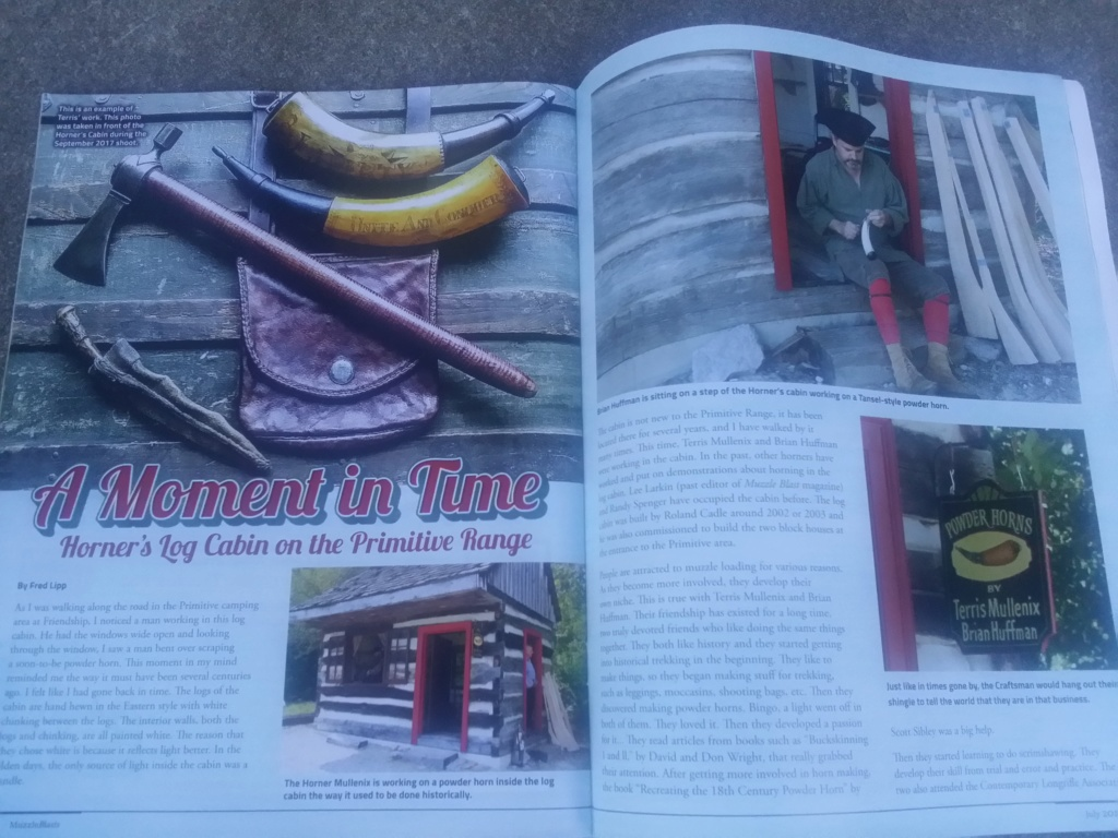 Need 2 copies of July 2018 issue of Muzzle Blast magazine. 20180611