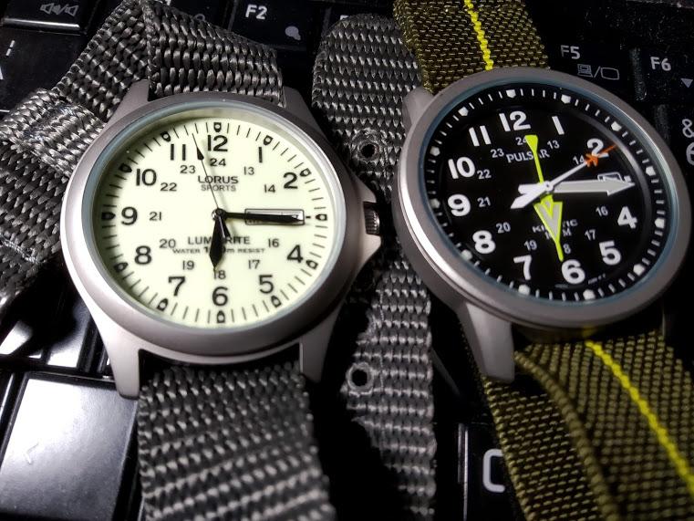 [Vendo] Pulsar Kinetic RAF + Lorus Lumibrite estilo militar 210