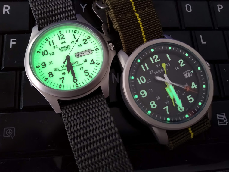 [Vendo] Pulsar Kinetic RAF + Lorus Lumibrite estilo militar 310