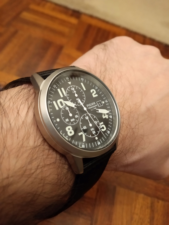 Pulsar PM3175X1 - o remake do cronografo da RAF Img_2087