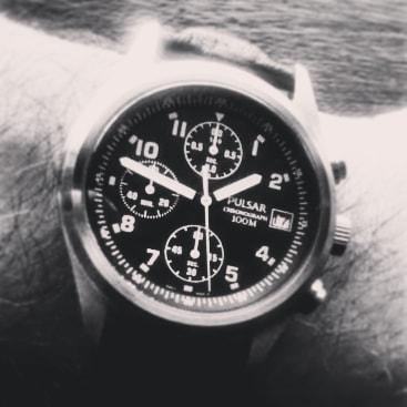 Pulsar PM3175X1 - o remake do cronografo da RAF Pulsar10