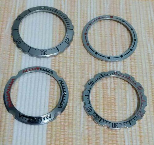 [Aceito ofertas pelo lote] Mostrador, bezels, inserts em cerâmica, caixas Lorus, etc. S-l50014
