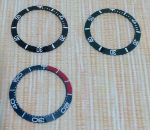 [Aceito ofertas pelo lote] Mostrador, bezels, inserts em cerâmica, caixas Lorus, etc. S-l50015