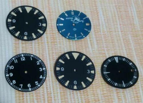 [Aceito ofertas pelo lote] Mostrador, bezels, inserts em cerâmica, caixas Lorus, etc. S-l50016