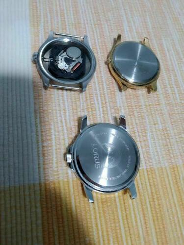 [Aceito ofertas pelo lote] Mostrador, bezels, inserts em cerâmica, caixas Lorus, etc. S-l50018