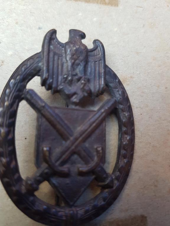 Identification insigne allemand WW2 20190910