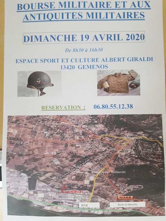 Bourse GEMENOS (13)     19 Avril 2020 20200111