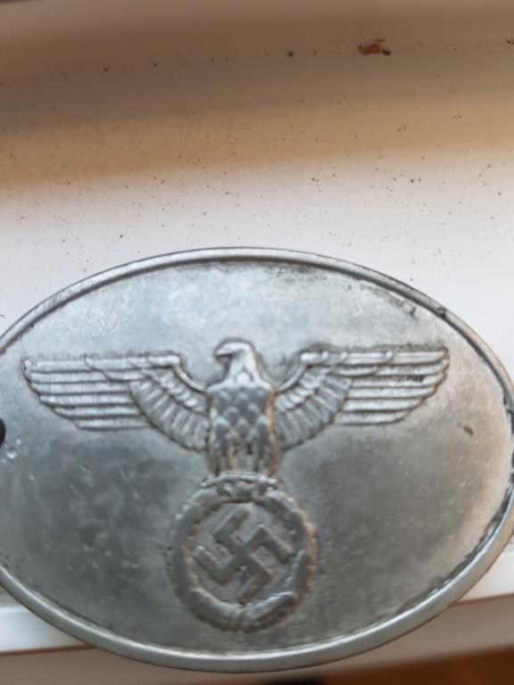 Plaque Police Allemande 20200418