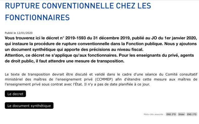 Rupture conventionnelle dans la FP : des infos ? - Page 4 80befa10