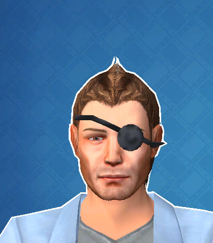 Hi RIGHT EYE PATCH please A15