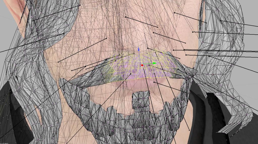 Asignación de labios para la sincronización Barba11