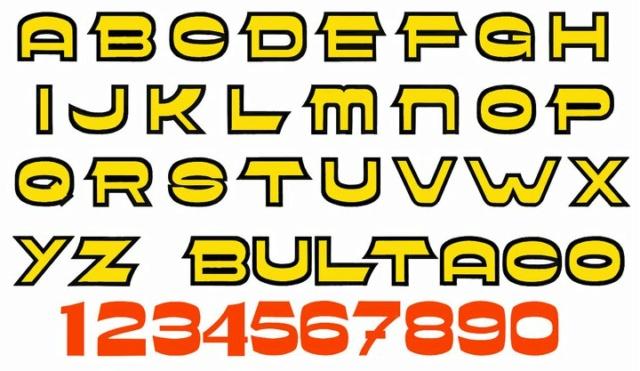 Letras Bultaqueras 26209010