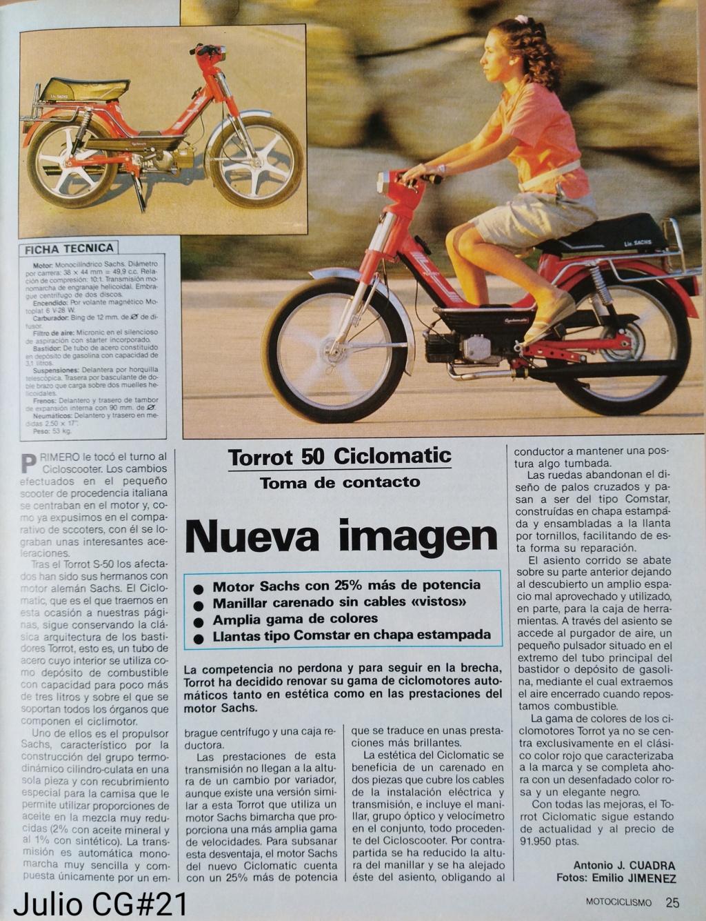 Torrot - Ciclomotor Torrot Ciclomatic Img_2104