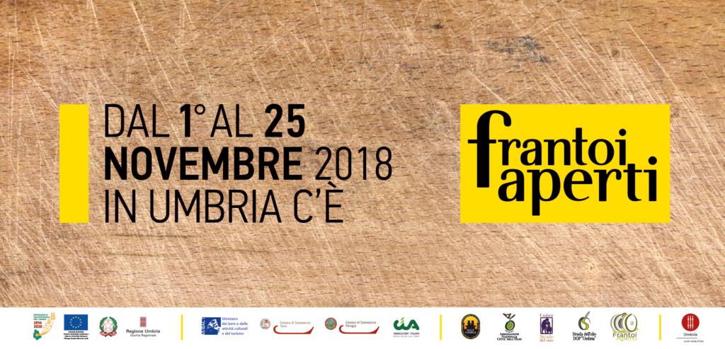 FRANTOI APERTI XXI EDIZIONE 1-25 NOVEMBRE 2018 Banner10