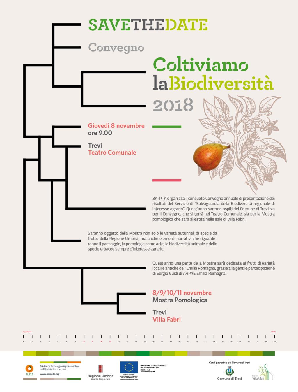 Coltiviamo la Biodiversità 2018 Teatro Comunale, Trevi  Giovedì 8 Novembre 2018 Conveg10