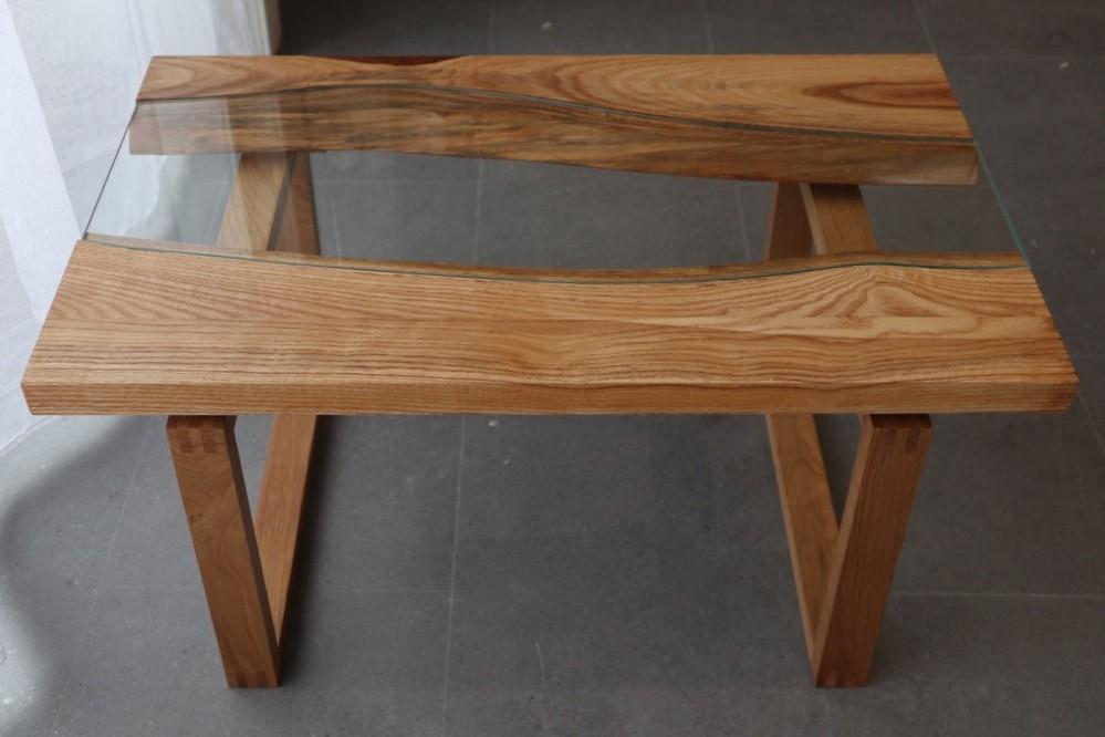 Table bois/verre River-11