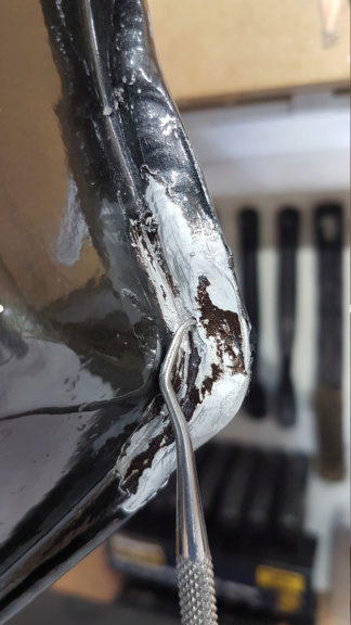 Pinhole in tank, can it be repaired? HELP! 20181110