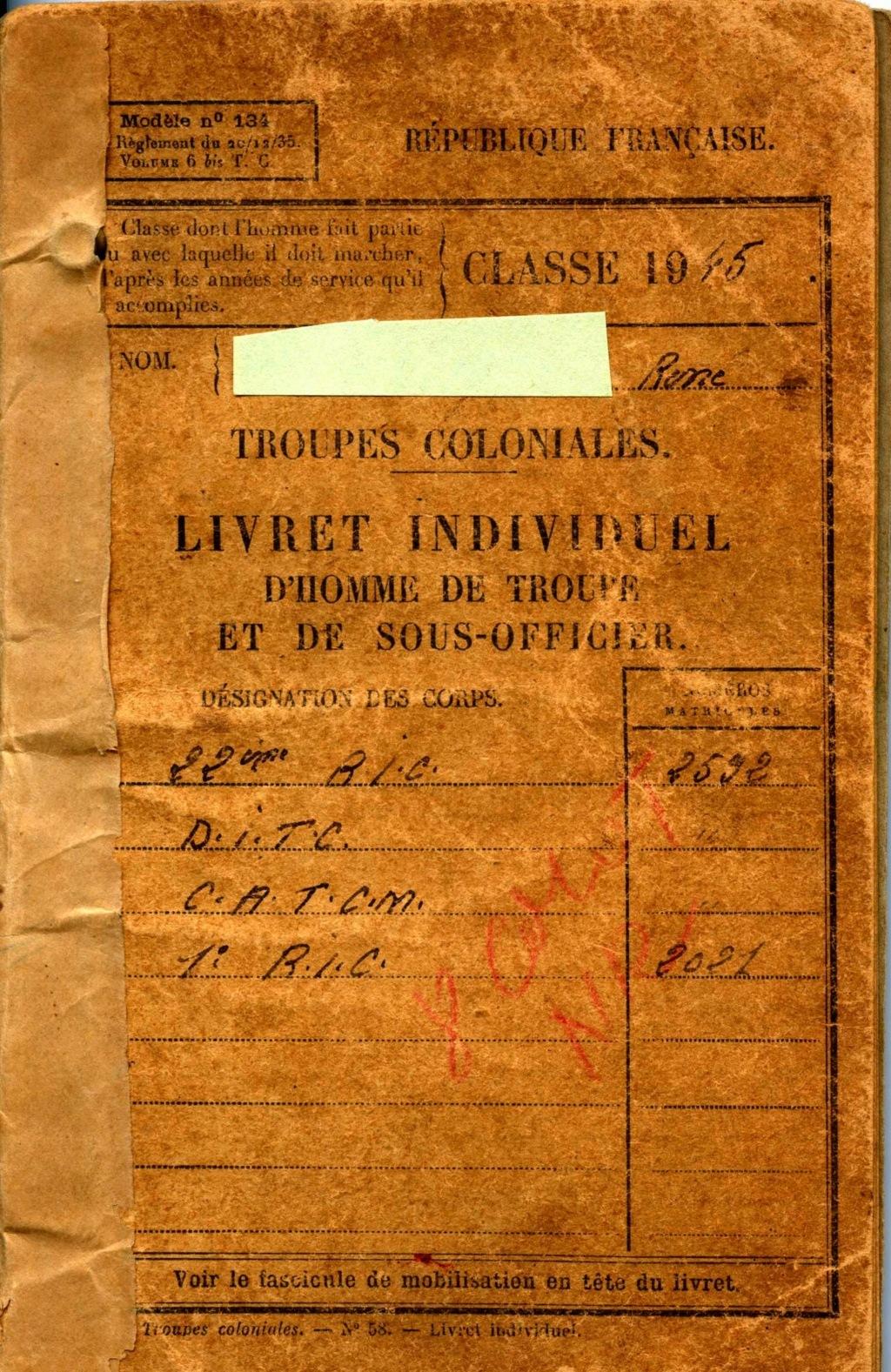 Livret militaire troupe coloniale Img11711