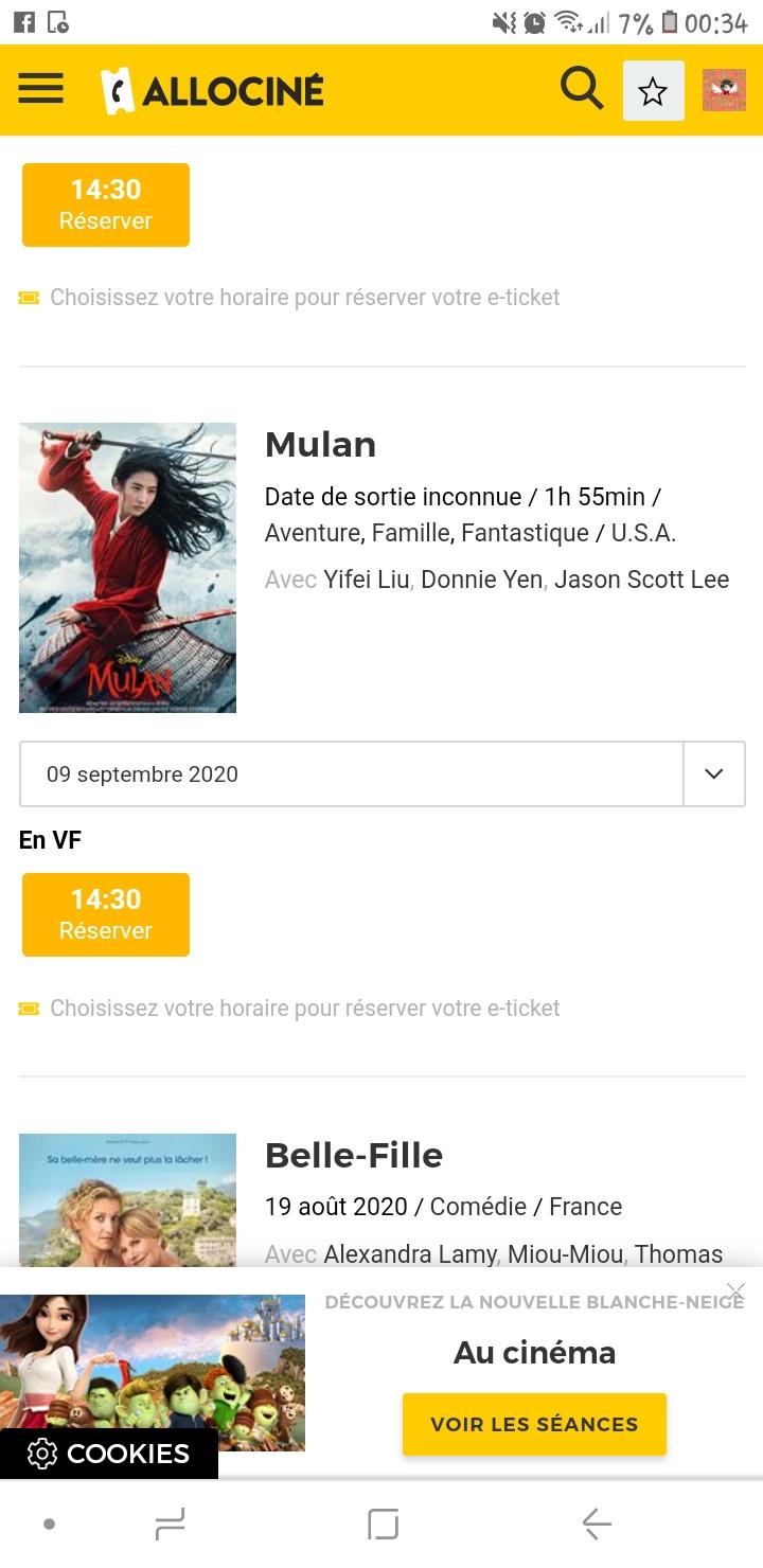 Mulan [Disney - 2020] - Page 21 Screen10