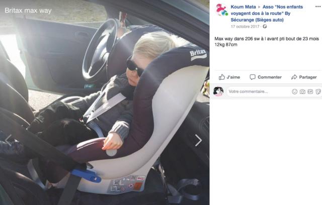 bon siège auto dans une voiture 3 portes?rêve ou réalité? Captur22