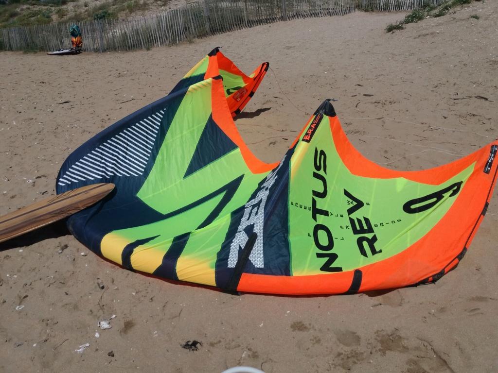 aile kitesurf Zeeko Notus rev 9m 2017 nue ou complete 20180613