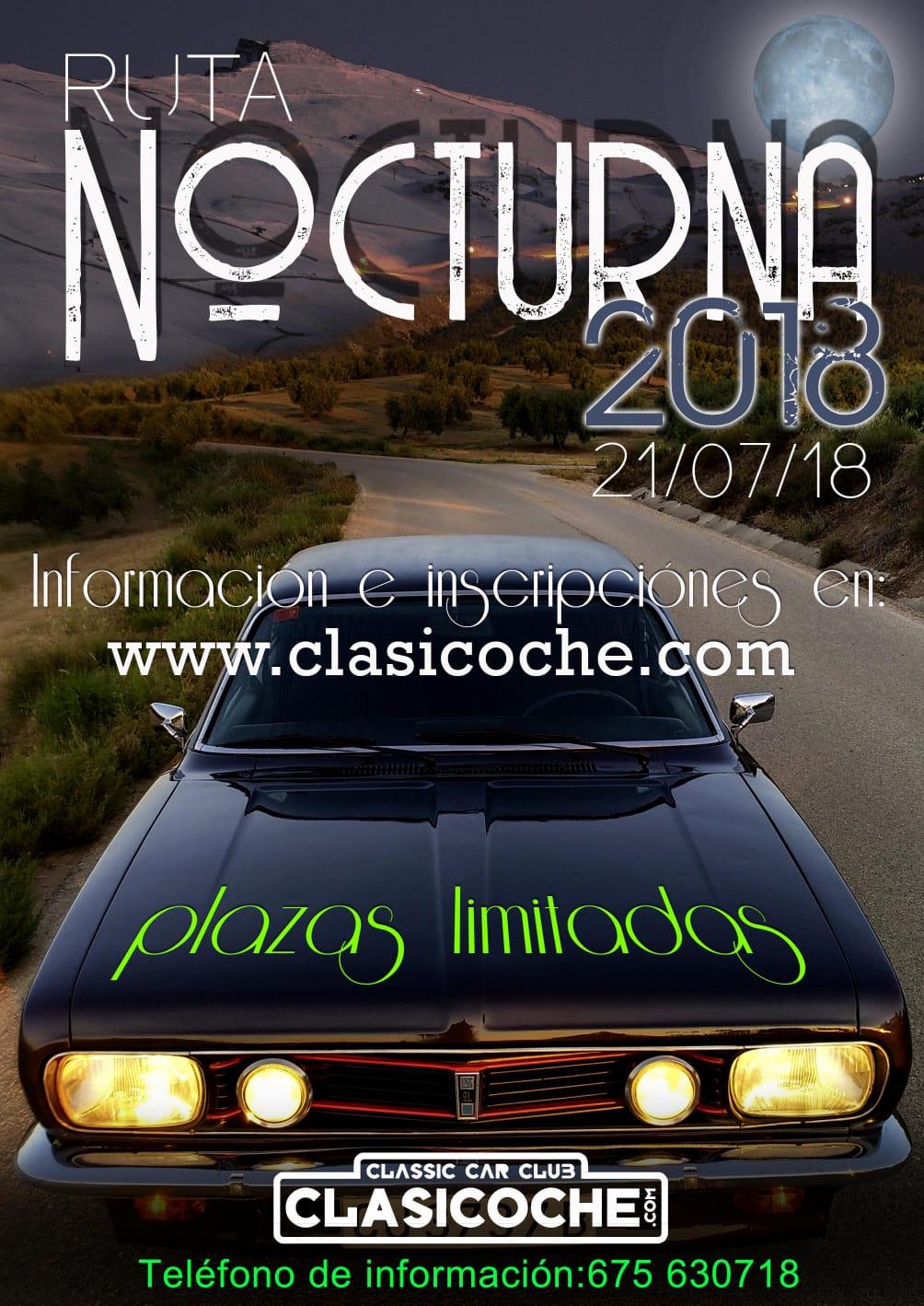 ••••••••• IX RUTA NOCTURNA CLASICOCHE  2018 ••••••••• 21-07-18 Whatsa11