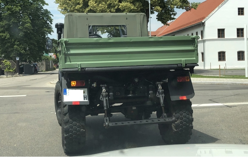 Servus aus Bayern Unimog10