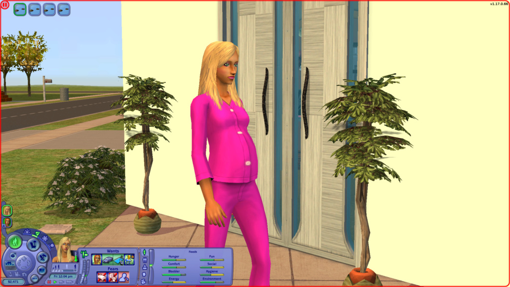 Sims 2 Pleasantview - for 2. gang Screen13