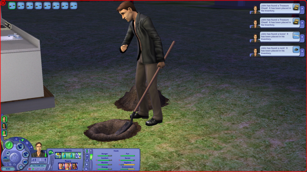 Sims 2 Pleasantview - for 2. gang Screen17