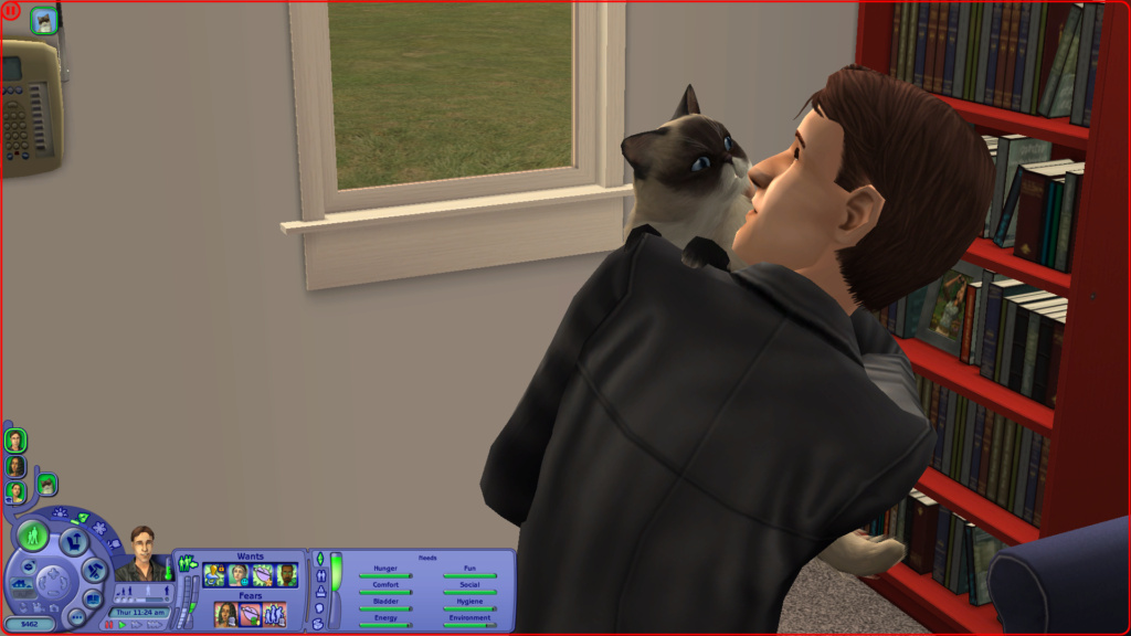 Sims 2 Pleasantview - for 2. gang Screen19