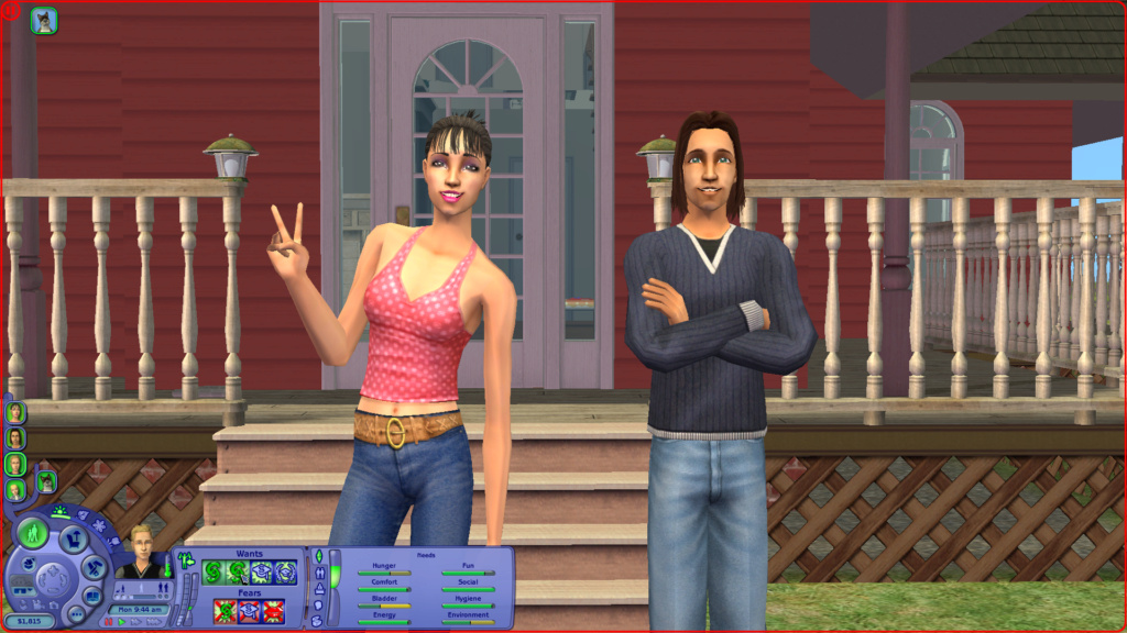 Sims 2 Pleasantview - for 2. gang Screen21