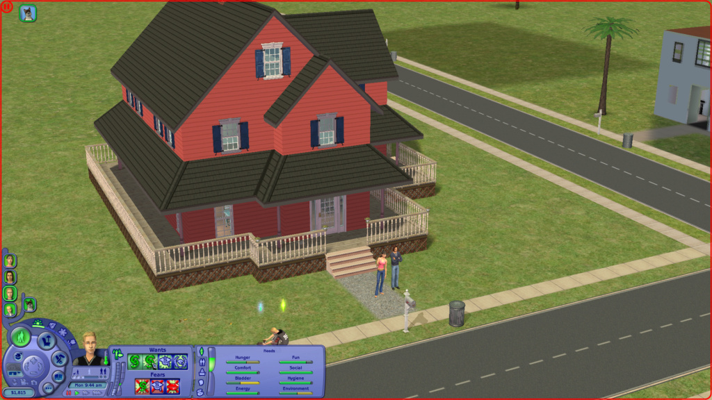 Sims 2 Pleasantview - for 2. gang Screen26
