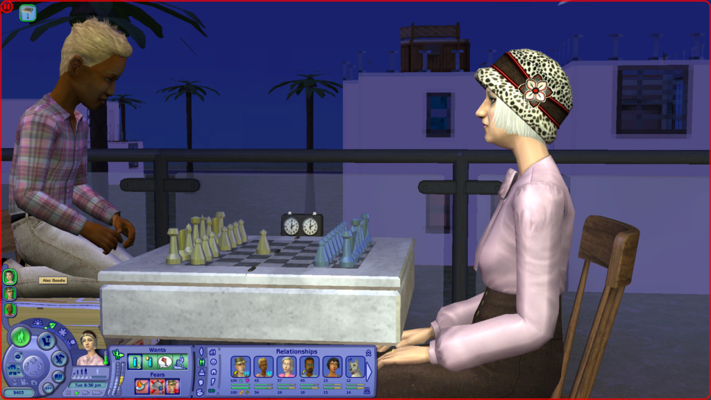 Sims 2 Pleasantview - for 2. gang Screen28