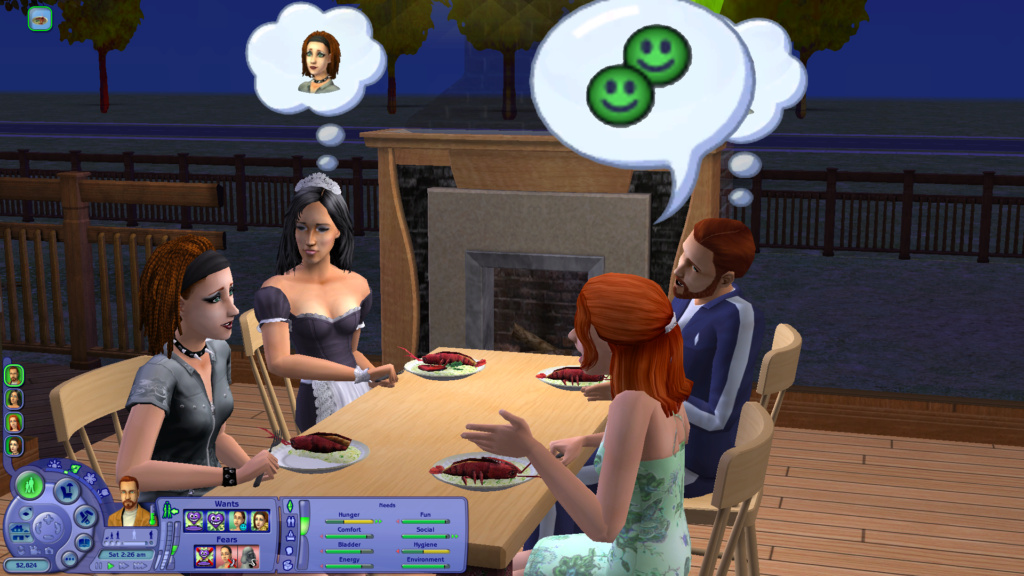 Sims 2 Pleasantview - for 2. gang Screen33
