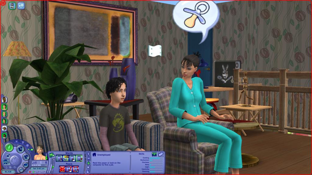 Sims 2 på nye maskiner Skzirm10
