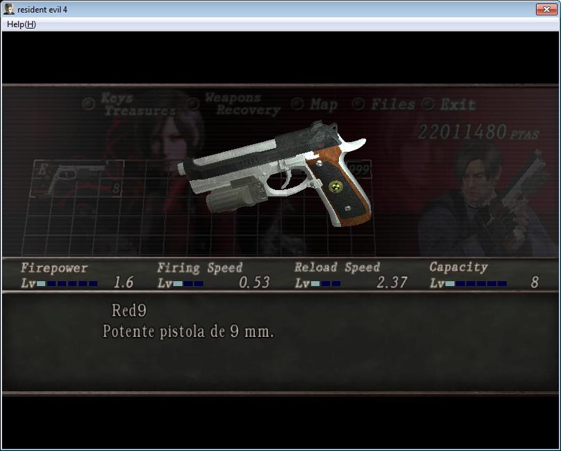 Samurai Edge y Albert01r con silenciador para re4 413