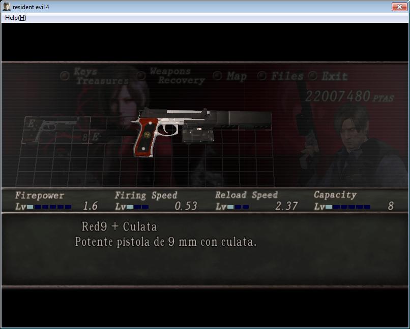 Samurai Edge y Albert01r con silenciador para re4 710