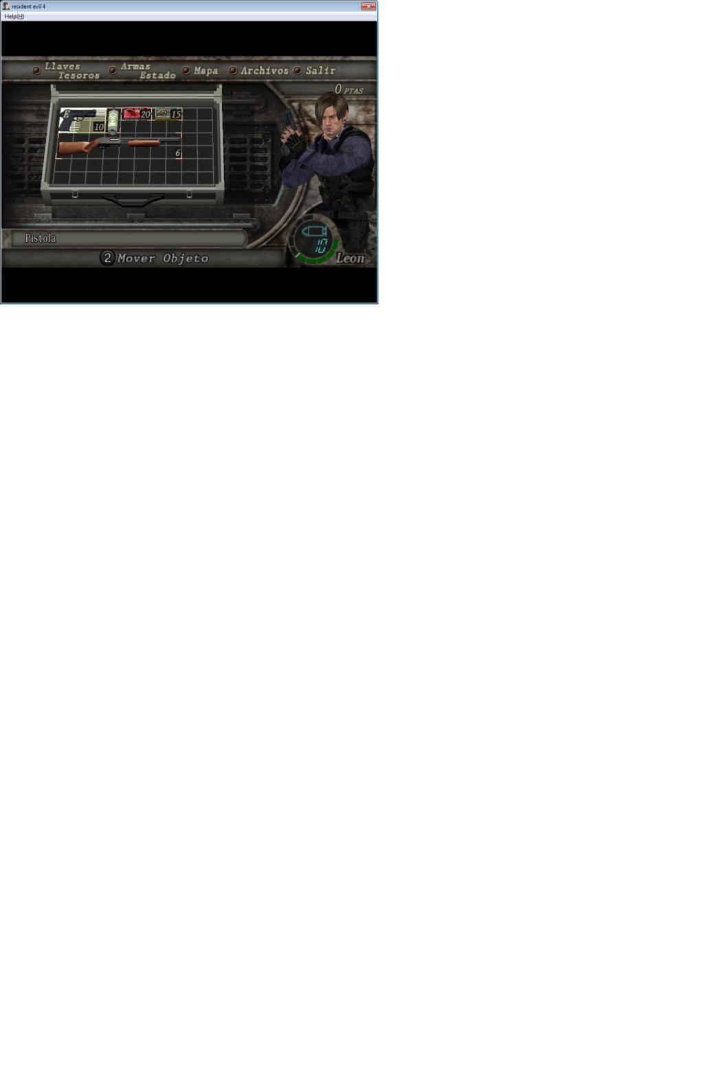 Super Mod de Resident evil 6 para Resident evil 4 y nuevo equipo Captur10