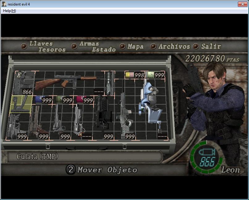 Super Mod de Resident evil 6 para Resident evil 4 y nuevo equipo Imagen11