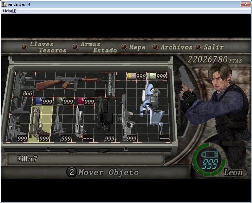 Super Mod de Resident evil 6 para Resident evil 4 y nuevo equipo Imagen14