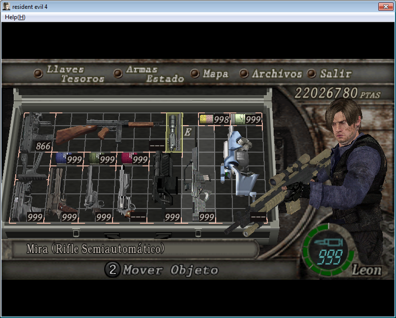 Super Mod de Resident evil 6 para Resident evil 4 y nuevo equipo Imagen16