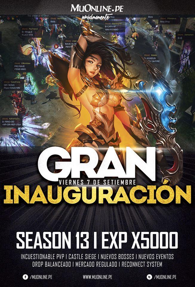 MuOnline Perú Season13!! Apertura Viernes 07 de Setiembre 2018!! 40488410