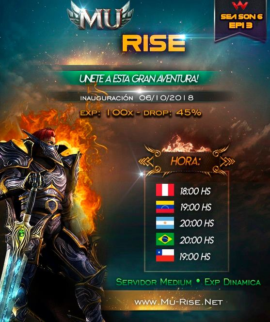 Mu Rise Season 6 | 100x | Dynamic Exp|  42747111