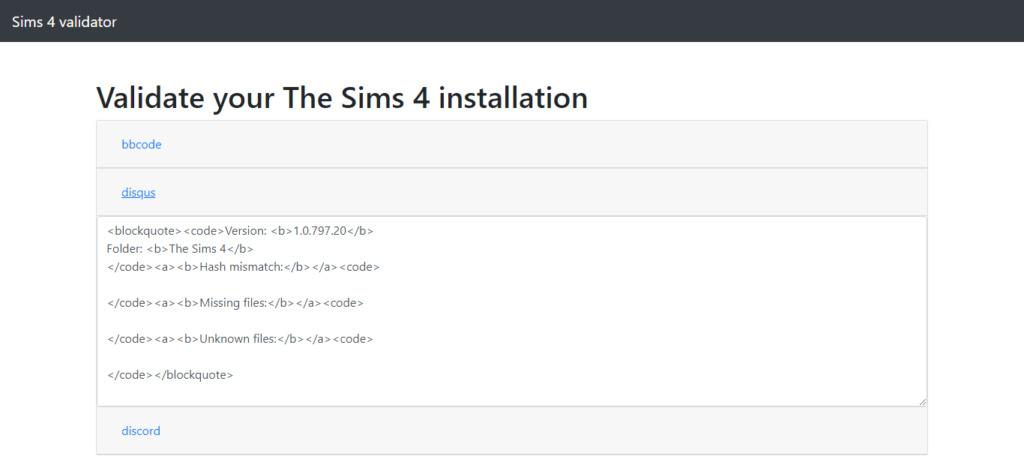 help with installation Valida11