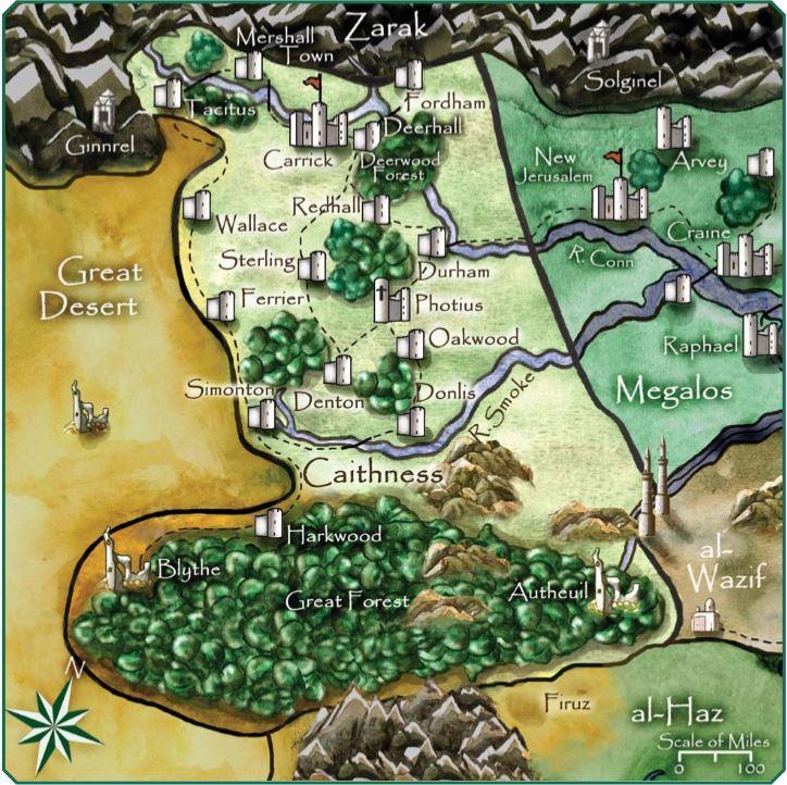 Introdução / ambientação Map_ca10