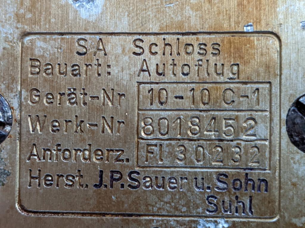 Sauer 38H sauvé de la destruction Boucle10