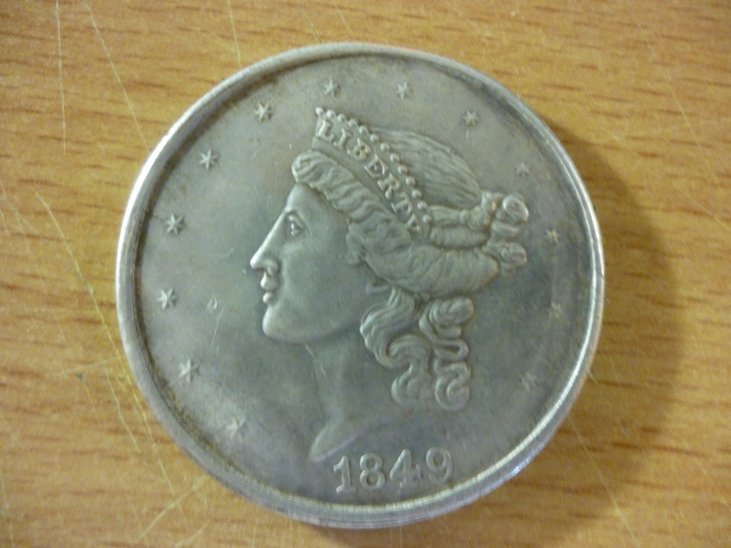 Pièce Américaine 1849 Americ10