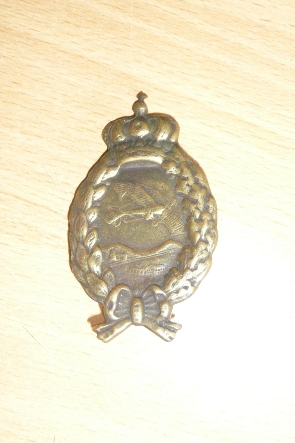 Medaille aviation allemande ww1 P1050214