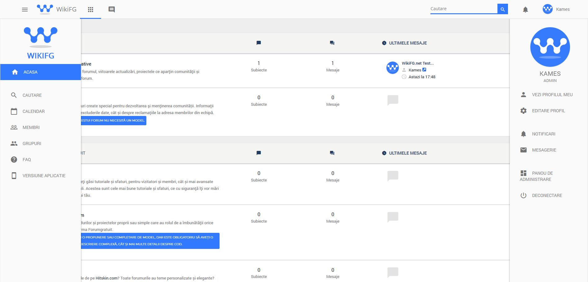 WikiFG.net - Tutoriale, teme și suport gratuit pentru Forumgratuit Wikifg14